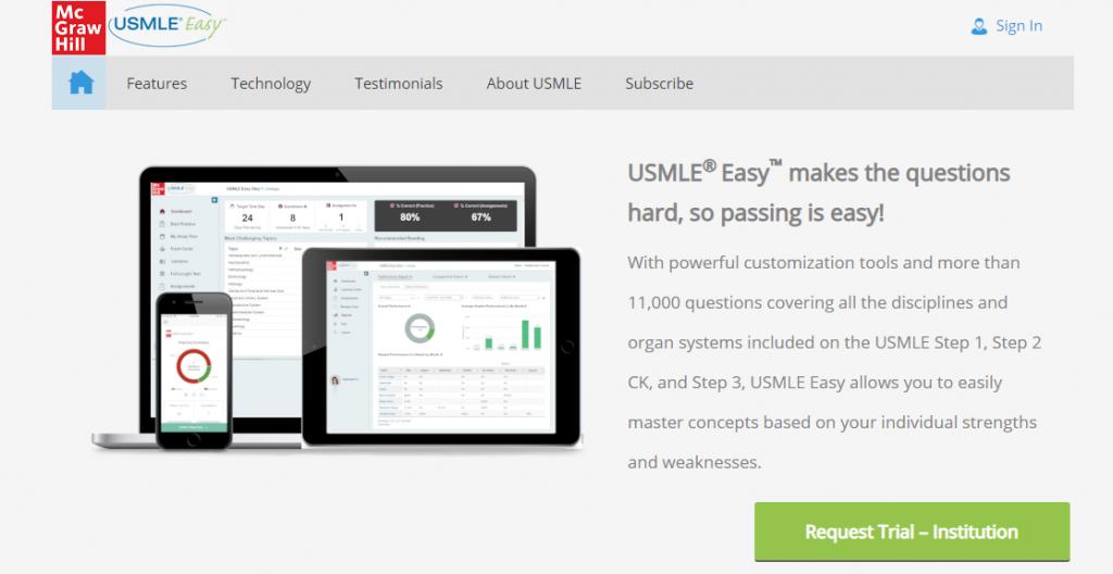 usmle easy – یابش – شرکت داده پردازی تلاش و توسعه YaBeSH