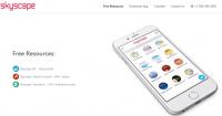 اپلیکیشن پزشکی اسکای اسکیپ مدیکال لایبرری