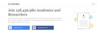 شبکه اجتماعی علمی آکادمیا