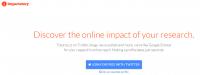 شبکه اجتماعی علمی ایمپکت استوری
